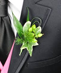 prom corsages and boutonnieres all green prom boutonniere personal flowers gallery