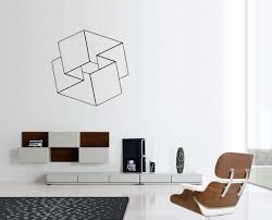 painting geometric wall decals inspiration home designs image of best geometric wall decals