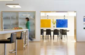 truro residence a green modern beach house zeroenergy design kitchen views into the dining room
