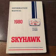 1980 cessna 172n pilot u0027s information manual u2013 g u0027s plane stuff