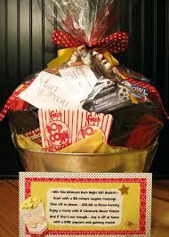 movie night gift baskets christmas basket sayings diy 7712