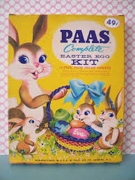 paas easter egg dye large vintage paas easter egg dye kit with decals stickers egg
