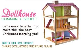 Free Woodworking Furniture Plans Pdf by Ana White Dream Dollhouse Diy Projects