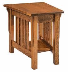 wedge shaped end table wedge shaped end table heartland amish furniture