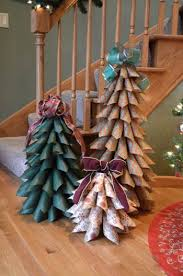 brown christmas tree large best 25 paper christmas trees ideas on diy paper