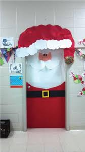 spread cheer with this easy to make santa door decoration