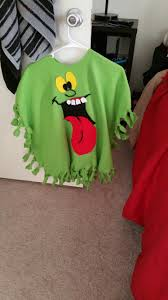 Halloween T Shirts For Kids by Slimer Poncho Costume For Kids Things I U0027ve Made Pinterest
