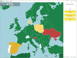 Europe Political Map Quiz by Seterra Has A New Color Scheme Seterra