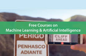 13 free training courses on machine learning and artificial