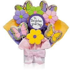 cookie bouquet brighten your day cookie bouquet at gift baskets etc