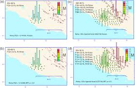 Norcia Italy Map by Effect Of Time Dependence On Probabilistic Seismic Hazard Maps And