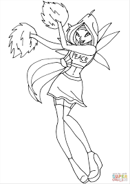 Winx Club Bloomix Coloring Pages Coloringpages234 Winx Club Musa Coloring Pages