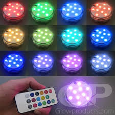 led decor lights with remote 13 color mode led light display