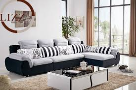 Living Room L Sets Sofa Lovely Fabric Sofa Set For Home Stylish Sofas Living Room