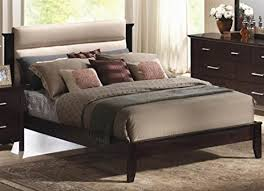 amazon com coaster 201291q kendra queen platform bed with