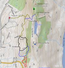 Sleeping Giant State Park Map by Along The New England Trail Skyline Trail And Avon Land Trust Loops