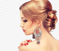 earing model earring beauty parlour model hairstyle jewelry model png
