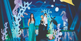 Under The Sea Decorations For Prom Complete Sea Of Dreams Theme Prom Nite