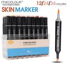 aliexpress com buy finecolour 12 24 36color skin tones soft