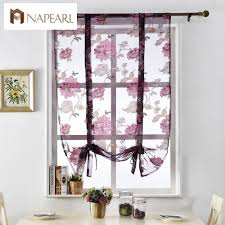 Kitchen Valance Curtains by Online Get Cheap Jacquard Valance Aliexpress Com Alibaba Group