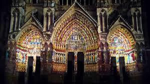 amiens la cathédrale en couleurs youtube