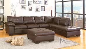Dallas Sectional Sofa Dallas Chocolate Sectional Sofa 70130 Mainline Inc Sectional Sofas