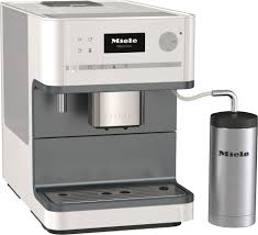 White Coffee Grinder 6310 Wh Miele Coffee Maker With Grinder White Make Espresso