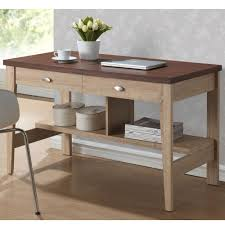 idabel dark brown wood modern desk with glass top simpli home amherst dark brown desk with storage axcamh 008 the