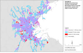Map Of Boston And Surrounding Towns by Core Efficiencies Study Of The Massachusetts Bay Transportation