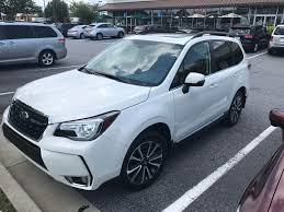 subaru outback 2018 white traded in my u002714 wrx hatch and joined the club 2018 2 0 xt