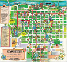 charleston trolley map maps update 13681267 tourist attractions map