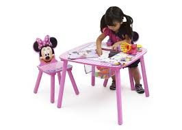 Table And Chair Sets Minnie Mouse Table U0026 Chair Set With Storage Delta Children U0027s