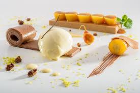 rezepte sterneküche feines schokoladen dessert mit marinierten bananen rezept