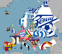 Current Map Of Europe This Brilliant Map Shows Every Top Flight League Leader In Europe