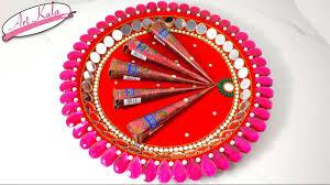 diy mehndi thaal decoration idea for wedding wedding crafts diy mehndi thaal decoration idea for wedding wedding crafts artkala 170