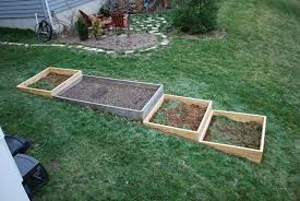building a raised garden bed on a slope home outdoor decoration