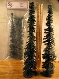 11 12 evergreen trees 2 pack superior scenics miniature
