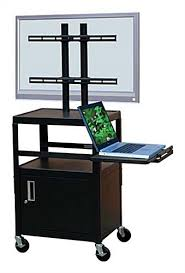 Laptop Storage Cabinet This Rolling Av Cart Can Be Used As A Podium In A Church Hall