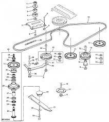 diagram to install belt on john deere 54