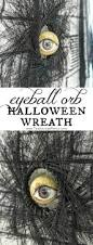 eyeball orb halloween wreath the navage patch