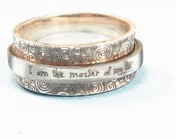 inspirational rings dainty stacking ring personalized ring inspirational ring