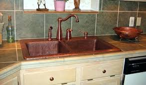 copper faucets kitchen copper faucet kitchen an update on my log cabin kitchen renovation