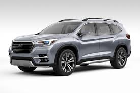 subaru ute subaru unveils ascent suv concept in new york news cars com