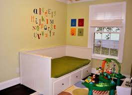 awesome brown blue wood unique design playroom small space boys