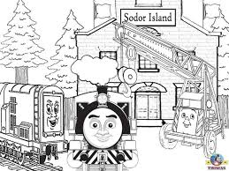 coloring pages thomas train kids coloring