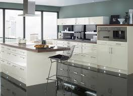 with big windows white stools small apartment kitchen design with