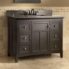 60 Inch Bathroom Vanity Single Sink by 42 Inch Single Sink Bathroom Vanity With Marble Top In White