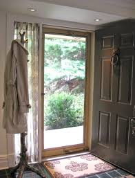 curtains drapes and blinds for a glass front door front door
