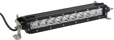 30 inch led light bar 30 inch single row led light bar sirius pro by motoalliance