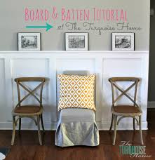 Room And Board Dining Room by How To Install Board And Batten Turquoise Style The